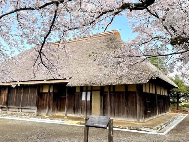 茅ヶ崎市指定重要文化財として保存される、旧和田家