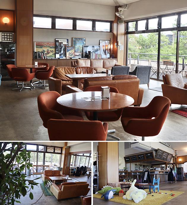 TREX OCEAN CAFE店内、キッズスペース