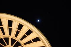 大佛次郎記念館と月