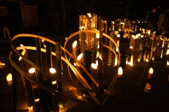 大晦日 萬燈除夜の鐘