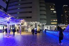 横浜駅東口星降るテラス前