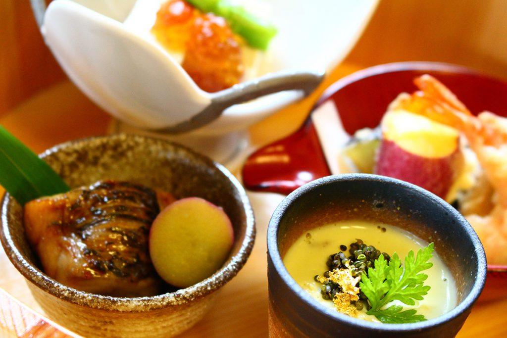 清涼な水と空気、土にこだわった料理、それが鎌倉和食