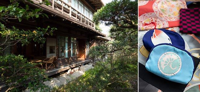 鎌倉駅から長谷観音に向かう道にある木造家屋。古民家スタジオ・イシワタリ