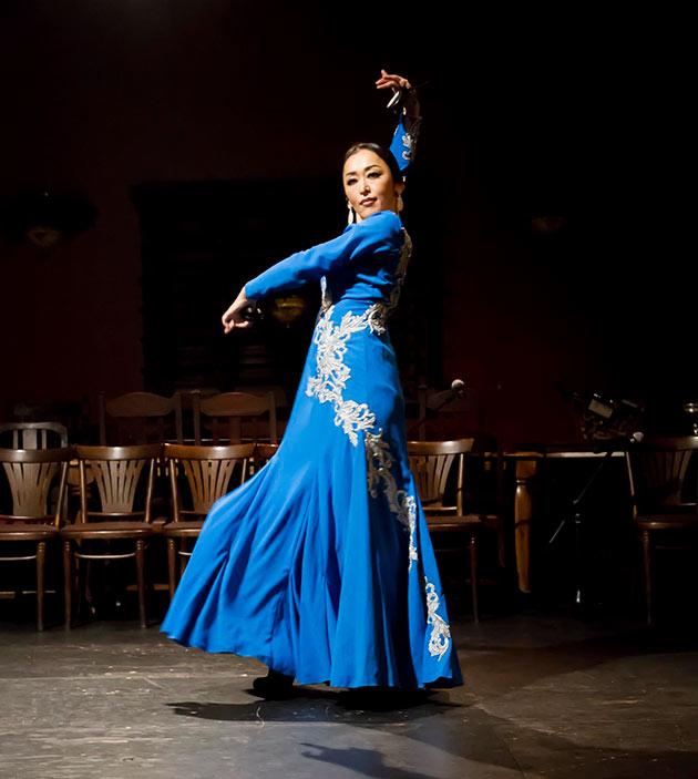 フラメンコ舞踏家、本間静香さん