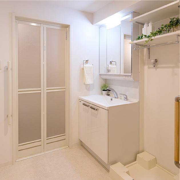 「マストクレリアン鎌倉」浴室