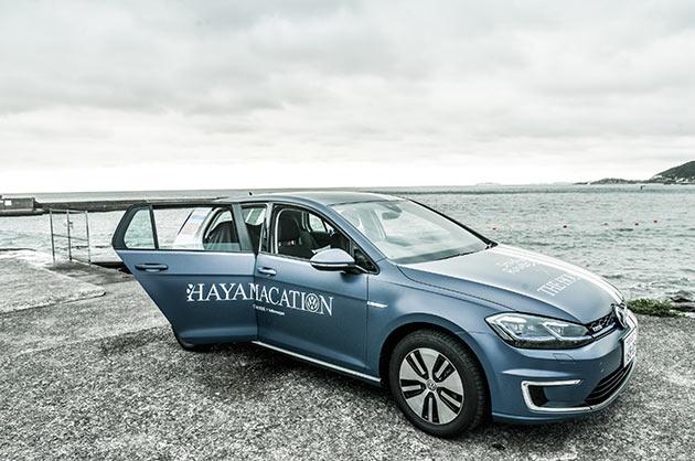 Volkswagenの100%電気自動車e-Golf