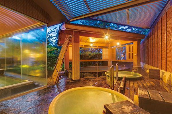 趣向の違う温泉が楽しめる大浴場