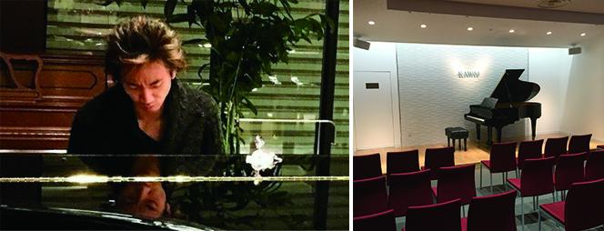 ピアニスト今西 泰彦とカワイ横浜 ショールーム内コンサートサロン「プラージュ」