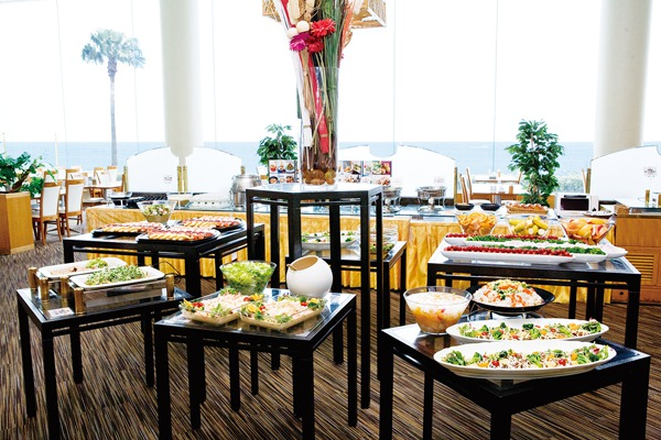 相模湾を望む素敵なレストラン