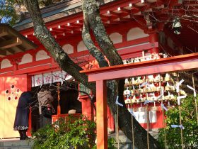 暮の鎌倉 荏柄天神社