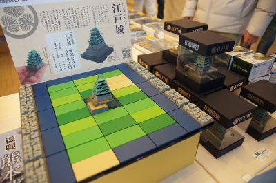 江戸城再現模型