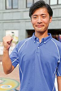 江の島アイランドスパ ホリスティッククラブマネージャー兼トレーナー 健康運動指導士・温泉利用指導者 岩渕航介さん