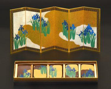 岡田美術館のアートなチョコレートシリーズ 期間限定品