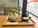 鎌倉御成通りの「もみじ茶屋」夏季限定の「抹茶かき氷」