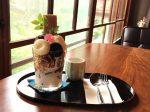 鎌倉 燕CAFEの豆花や豆腐白玉が入ったパフェ