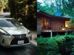レクサス新型RXと箱根リトリートのヴィラ