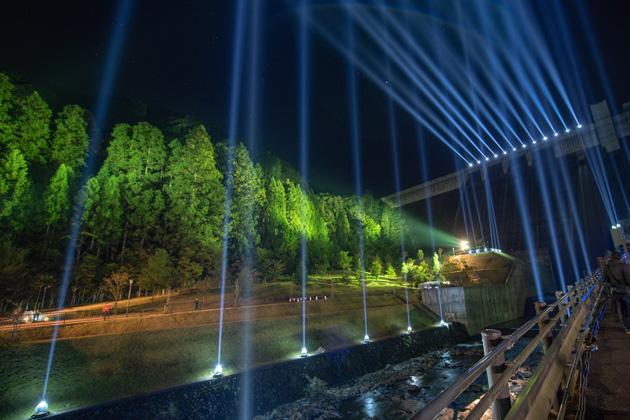 日田の山と川と光と音 齋藤 精一 (Rhizomatiks Architecture)