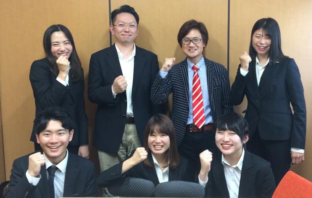 健康栄養学部笠岡ゼミのメンバー