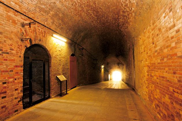 猿島 島内トンネル
