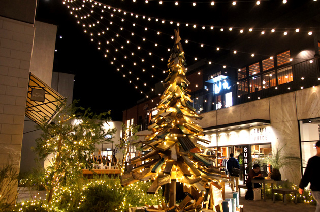 MARINE & WALK YOKOHAMAのクリスマスツリー