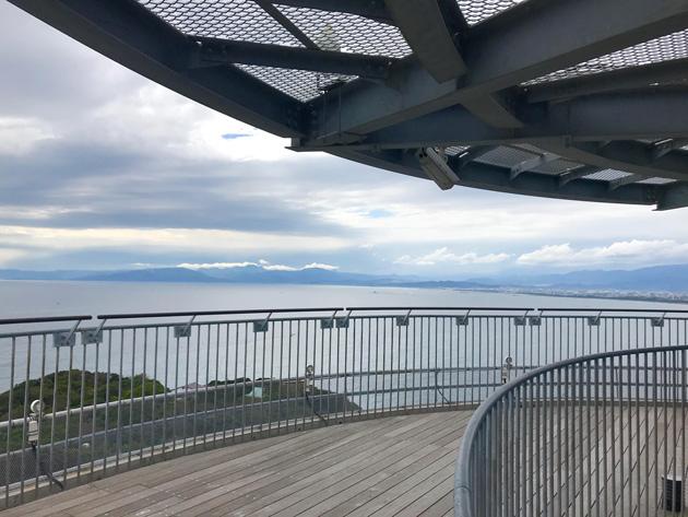 江の島 シーキャンドル展望台