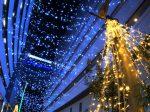 横浜駅東口 はまテラスのイルミネーション