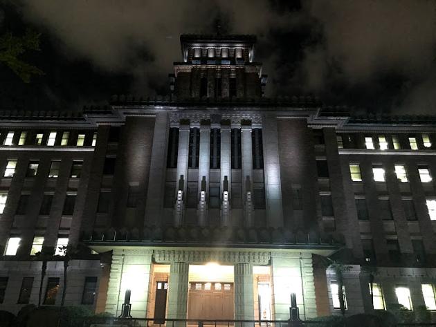 神奈川県庁 ライトアップ