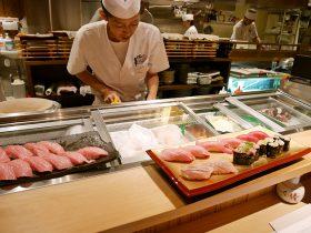 寿司あおいカウンター