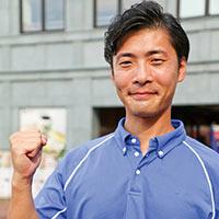 江の島アイランドスパ 健康運動指導士、温泉利用指導者 岩渕航介さん