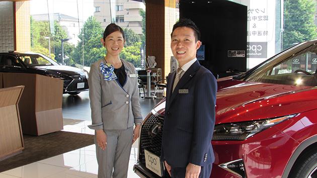 レクサス豊田さんと中山さん