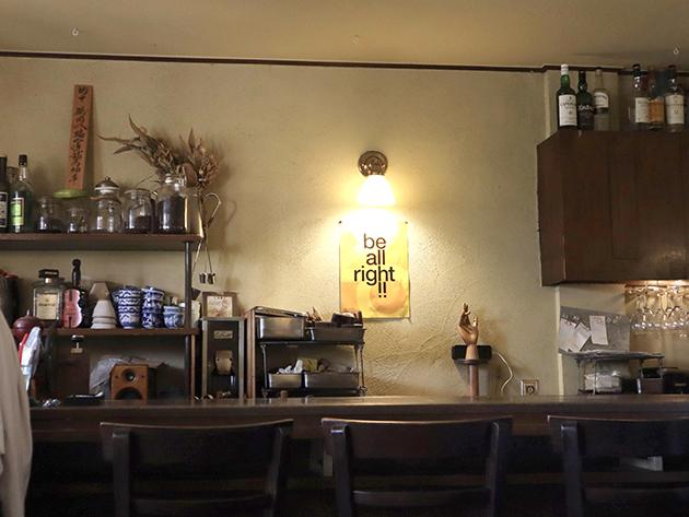 カフェ エチカ店内