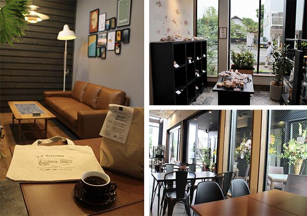 BinO cafe&bakery ZIN内観