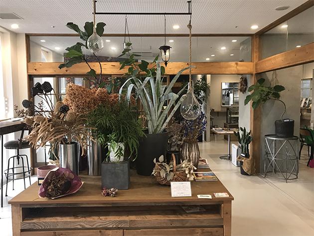 top 8cafe+flower 店舗画像