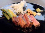鉄板焼七里ヶ浜のステーキ