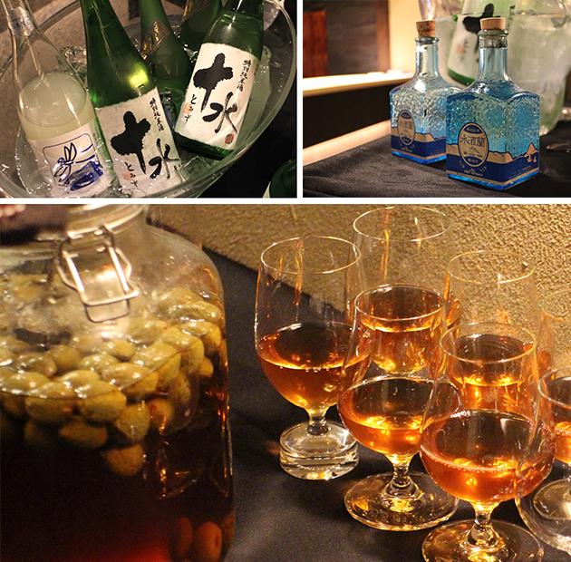 鎌倉古今日本酒と梅酒
