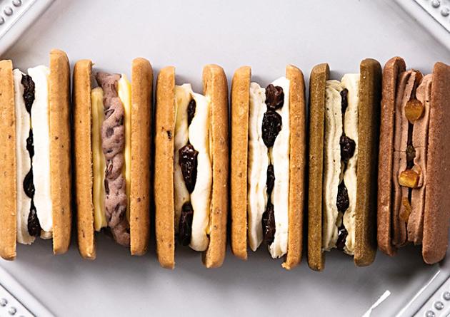 『Huffnagel(フフナーゲル)』ブランドの「Oats Cookies Buttercream Filling Selection(オーツクッキー バタークリーム フィリングセレクション)」