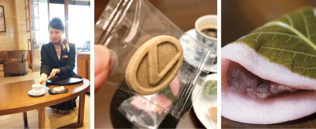レクサス藤沢での呈茶サービス