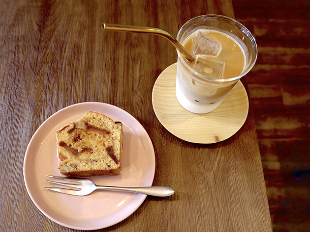 ザ コーヒー インタラクション、コーヒーとケーキ